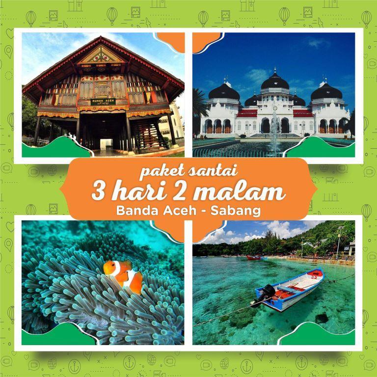Paket Wisata Sabang Banda Aceh 3 Hari 2 Malamseulanga Tour And Travel