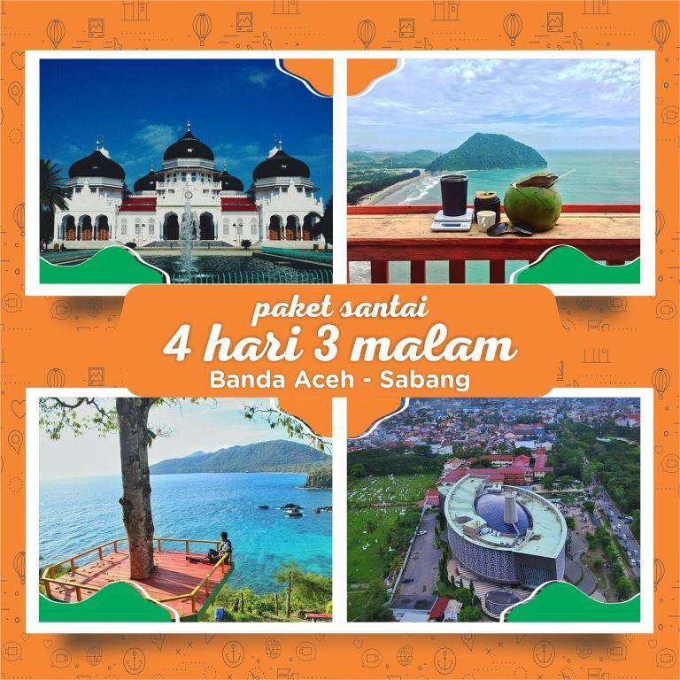 Paket Wisata Sabang Banda Aceh 4 Hari 3 Malamseulanga Tour And Travel